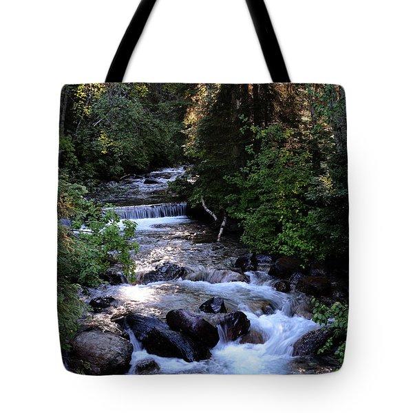 Lost Creek Tote Bag