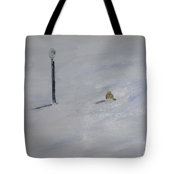 Lost Fire Hydrant Tote Bag