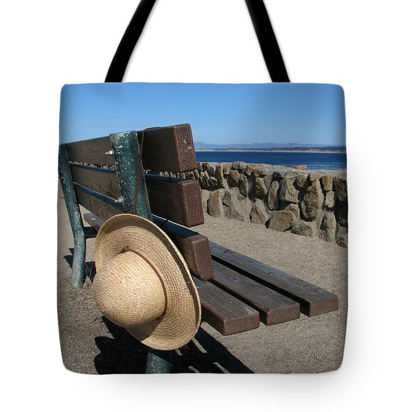 Lost Hat Tote Bag by James B Toy