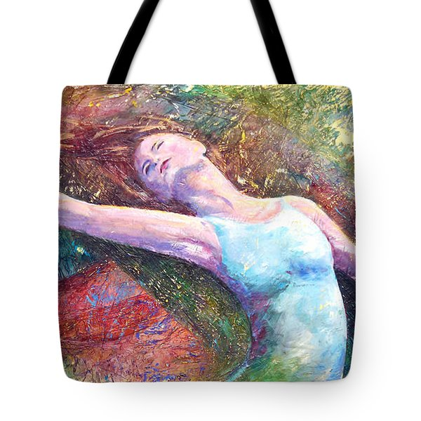 Lost In Dance  Tote Bag