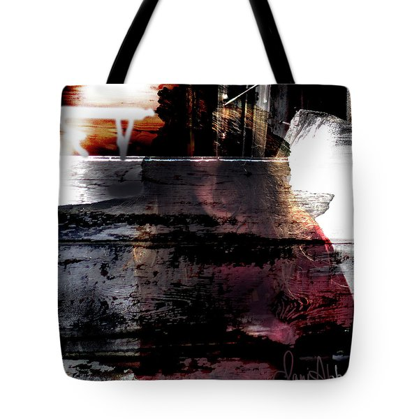 Lost In Her Thoughts Tote Bag