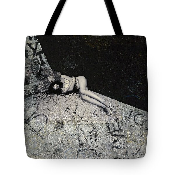 Lost In New York Tote Bag by Yelena Tylkina
