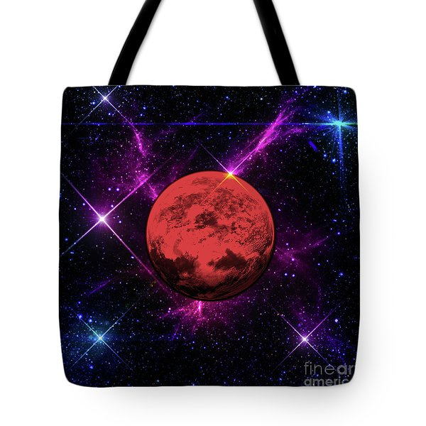 Lost In Space  Tote Bag by Naomi Burgess