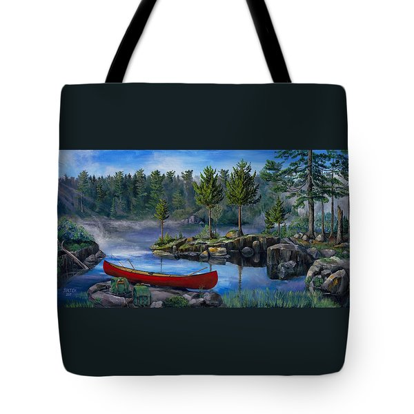 Lost In The Boundary Waters Tote Bag