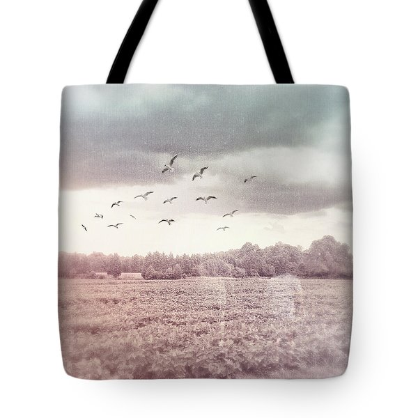 Lost In The Fields Of Time Tote Bag