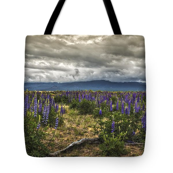 Lost In The Lupine Tote Bag