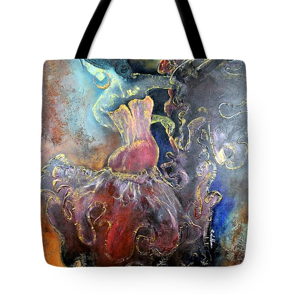 Lost In The Motion Tote Bag