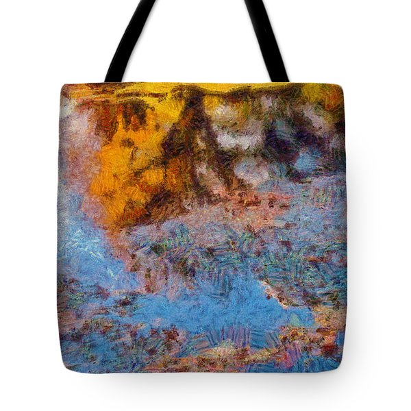 Lost In The Pond Tote Bag by Spyder Webb