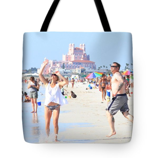 Lost In The Sun Tote Bag
