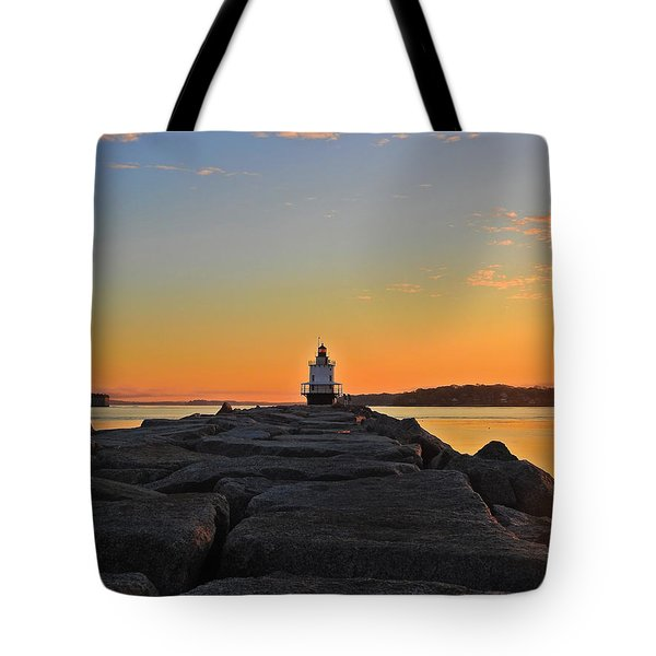 Lost In The Sunrise Tote Bag