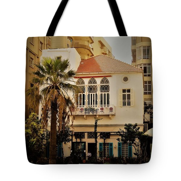 Lost In The Urban Jungle  Beirut  Tote Bag