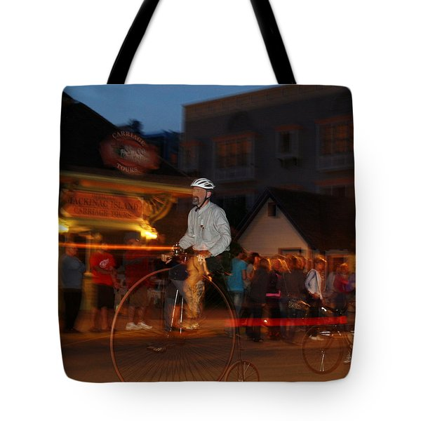 Lost In Time On Mackinaw Tote Bag