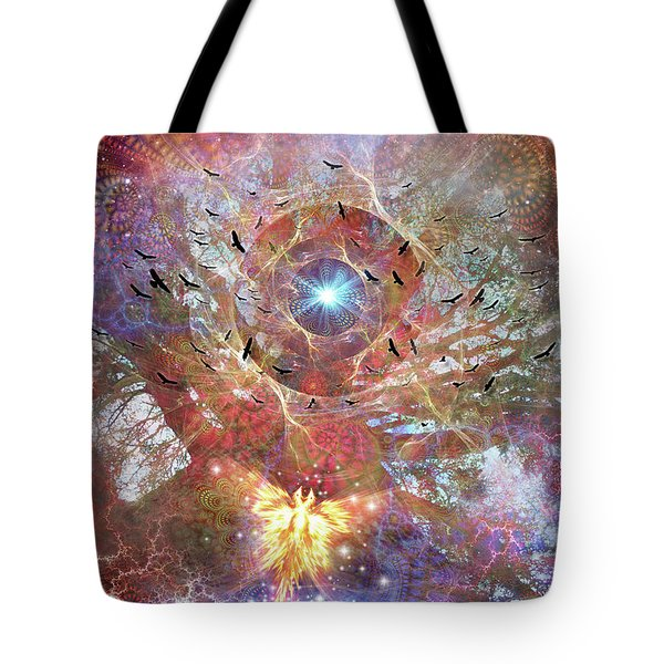 Lost In Transformations Tote Bag