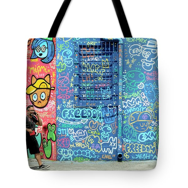 Lost In Translation Tote Bag by Keith Armstrong