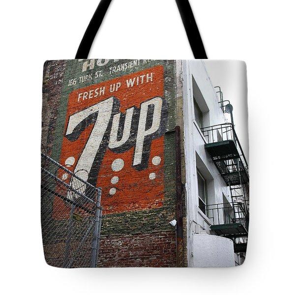 Lost In Urban America - El Rosa Hotel - Tenderloin District - San Francisco California - 5d19351 Tote Bag