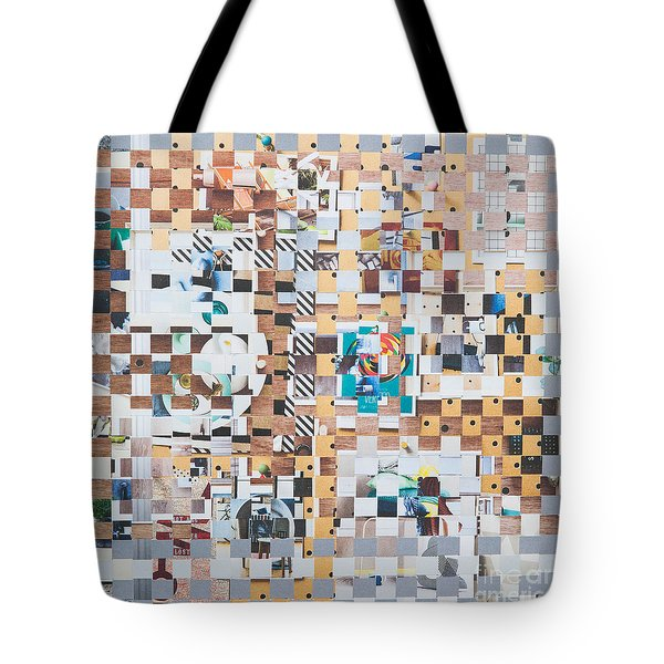 Tote Bag featuring the mixed media Lost by Jan Bickerton