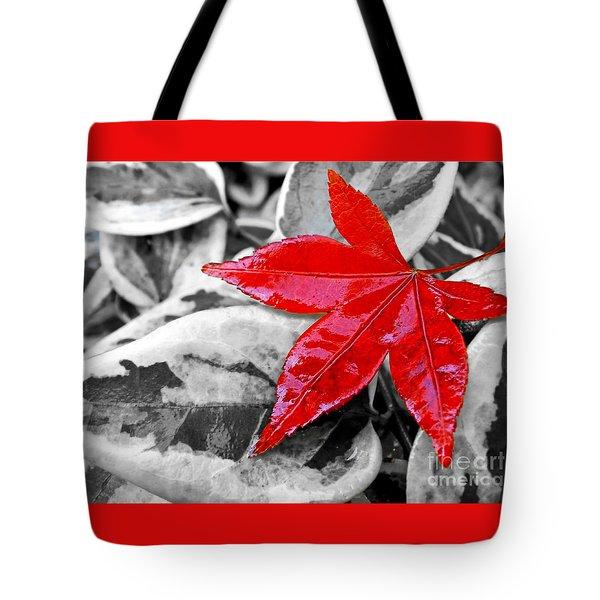 Lost Tote Bag by Kaye Menner