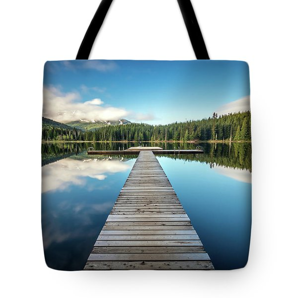 Lost Lake Dream Whistler Tote Bag by Pierre Leclerc Photography