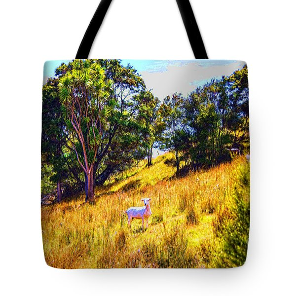 Tote Bag featuring the photograph Lost Lamb by Rick Bragan