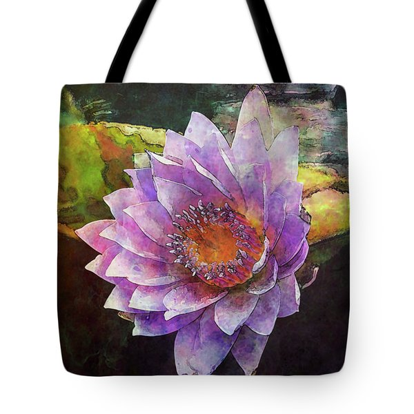 Lost Lavender Lotus Blossom 4725 Ldp_2 Tote Bag