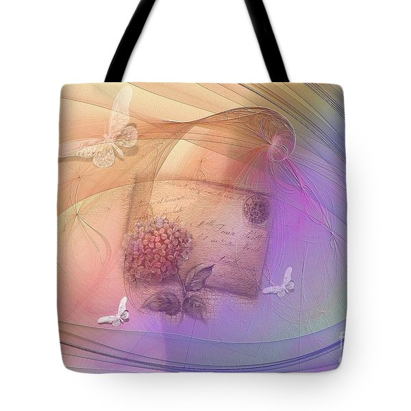 Lost Letter Tote Bag by Elaine Manley