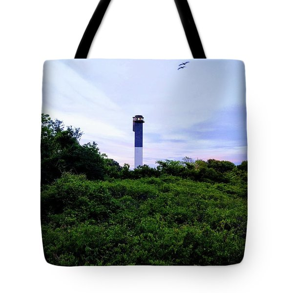 Lost Lighthouse Tote Bag