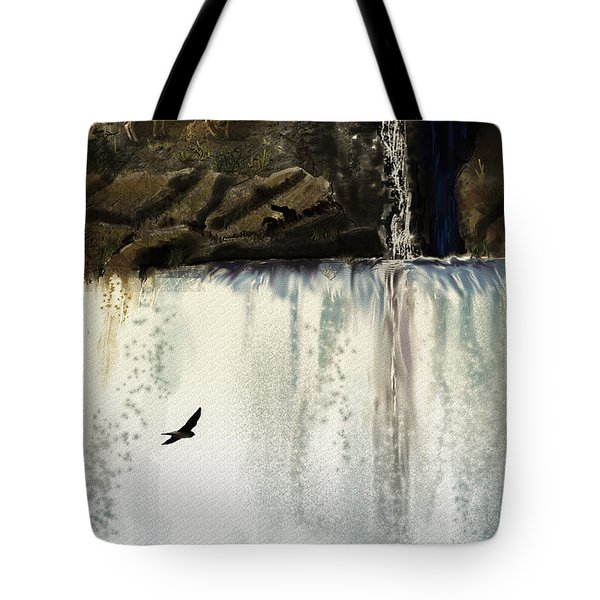 Lost River Tote Bag by J Griff Griffin