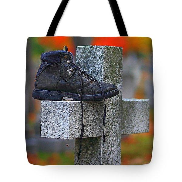 Lost Sole Tote Bag