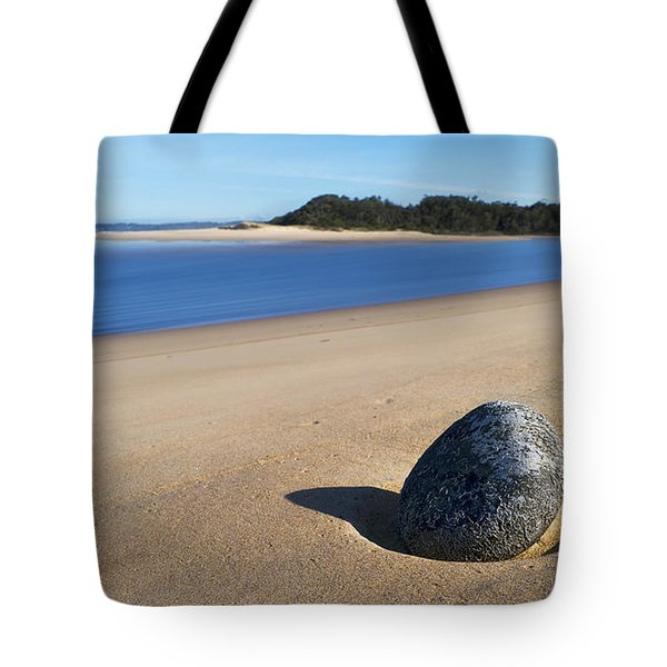 Tote Bag featuring the photograph Lost Stone 01 by Kevin Chippindall