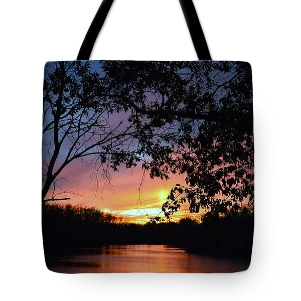 Lost Sunset Tote Bag