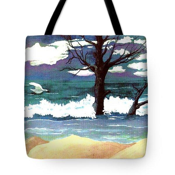 Lost Swan Tote Bag