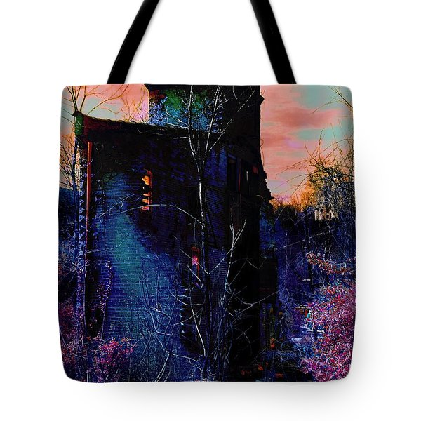 Lost Tower Of The Blue King Tote Bag