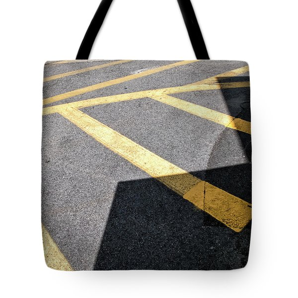 Tote Bag featuring the photograph Lot Lines by Eric Lake