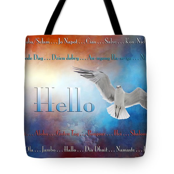 Lots Of Ways To Say Hello Tote Bag