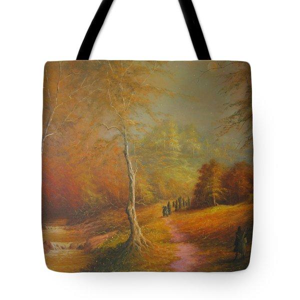 Lothlorien Tote Bag by Joe  Gilronan