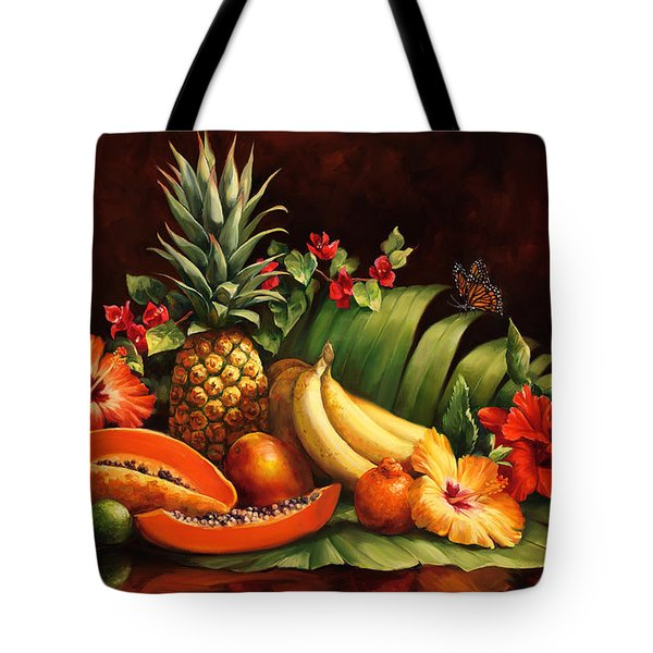 Lots Of Fruit Tote Bag by Laurie Hein