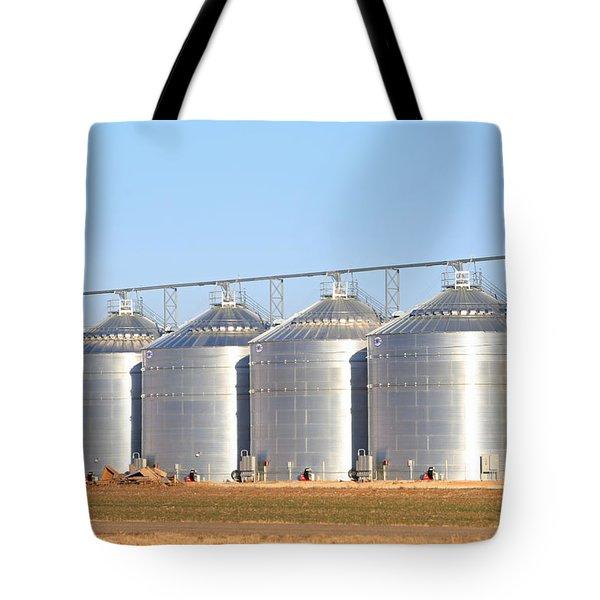 Lots Of Grain Tote Bag