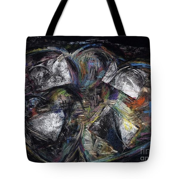 Lots Of Heart Tote Bag by Frances Marino