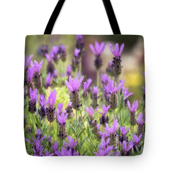 Tote Bag featuring the photograph Lots Of Lavender  by Saija Lehtonen