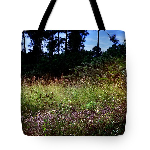 Tote Bag featuring the photograph Lots Of Weeds by Joseph G Holland