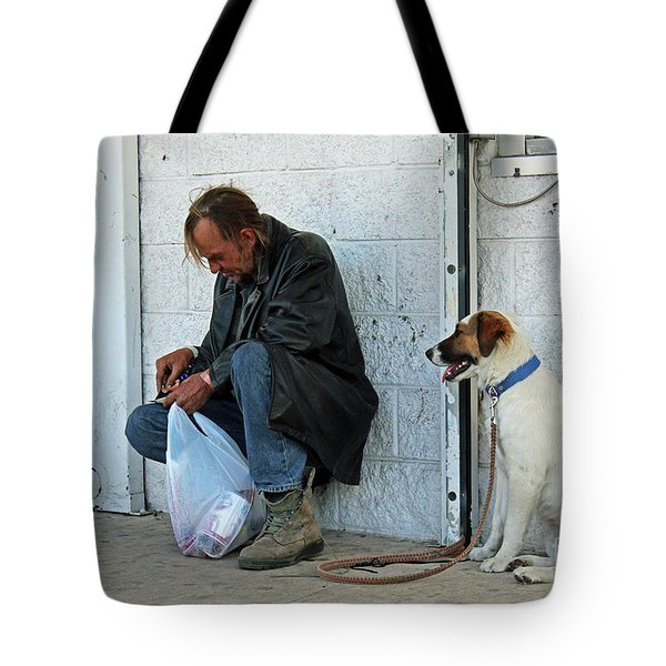 Tote Bag featuring the photograph Lottery Ticket by Joe Jake Pratt
