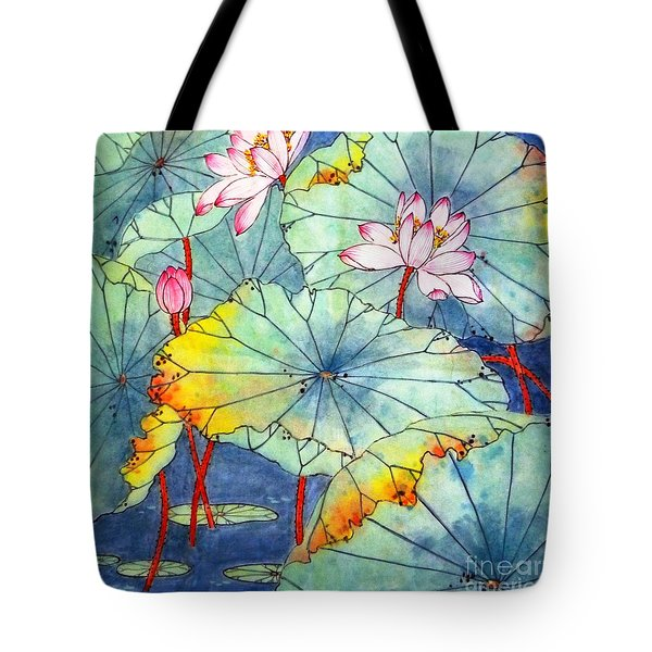 Lotus #2 Tote Bag