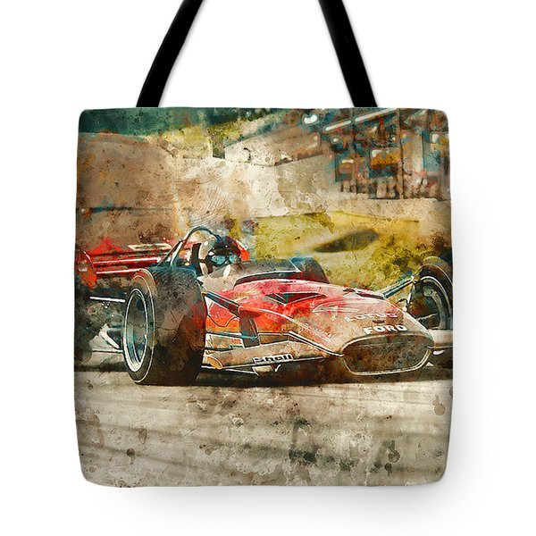 Lotus 49 - 33 Tote Bag