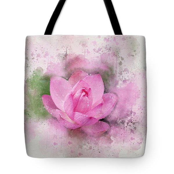 Lotus 7 Tote Bag