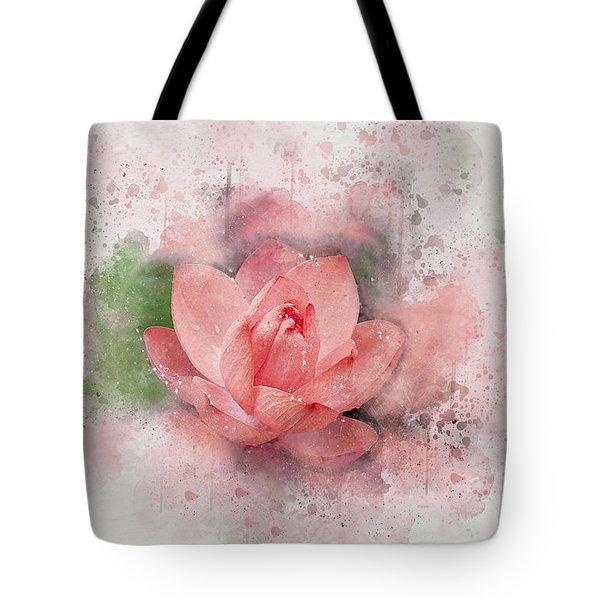 Lotus 8 Tote Bag