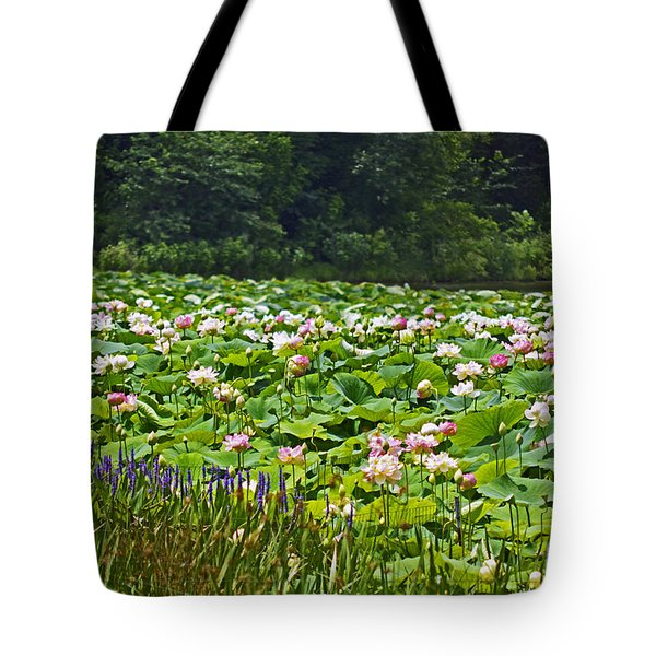 Lotus And Pickerelweed Tote Bag