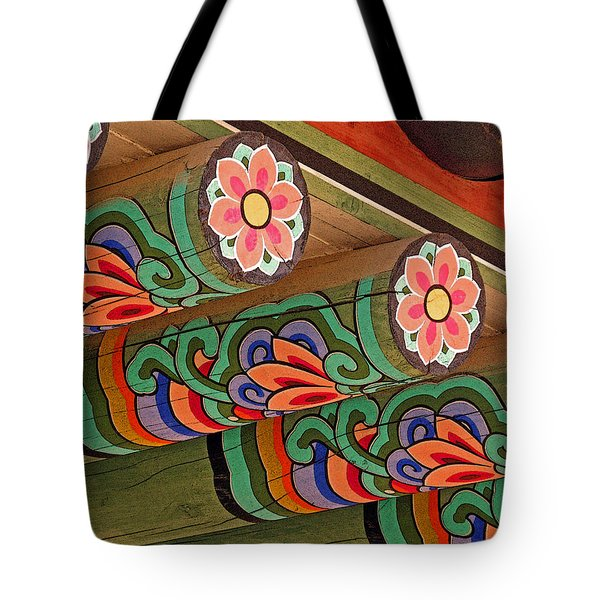 Lotus Beams Tote Bag