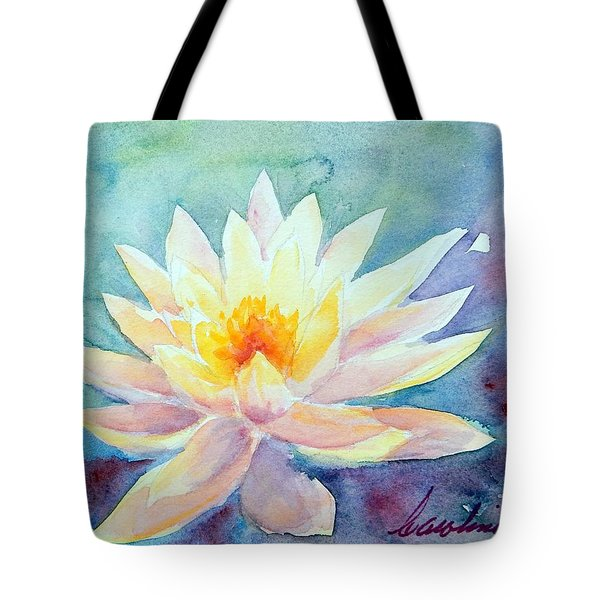 Lotus Awakens Tote Bag