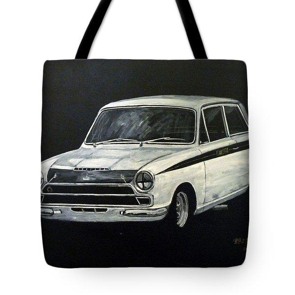 Lotus Cortina Tote Bag