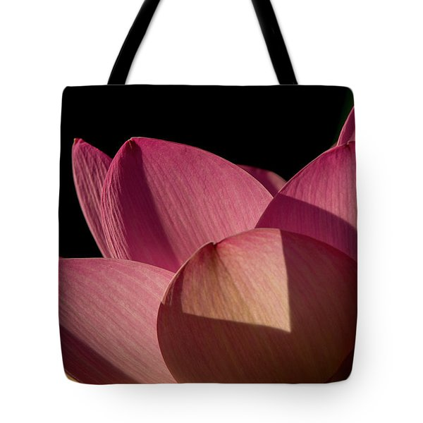 Tote Bag featuring the photograph Lotus Flower 5 by Buddy Scott